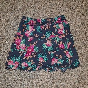 Norstrom xsmall floral skirt